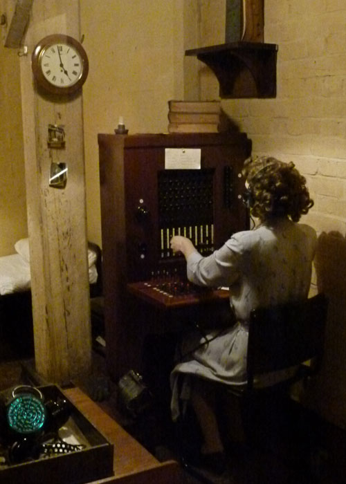Cabinet War Rooms, switchboard