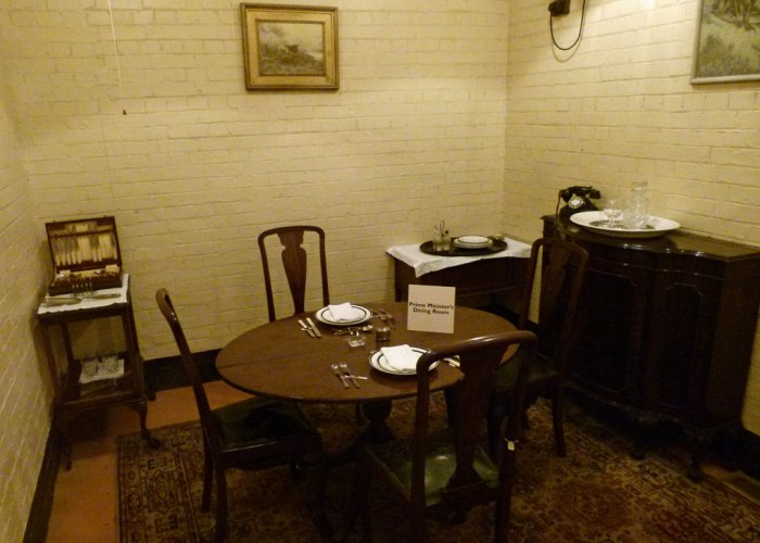 Cabinet War Rooms, The Prime Minister's Dining Room