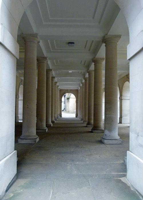 Cloisters, Pump Court, Temple, London
