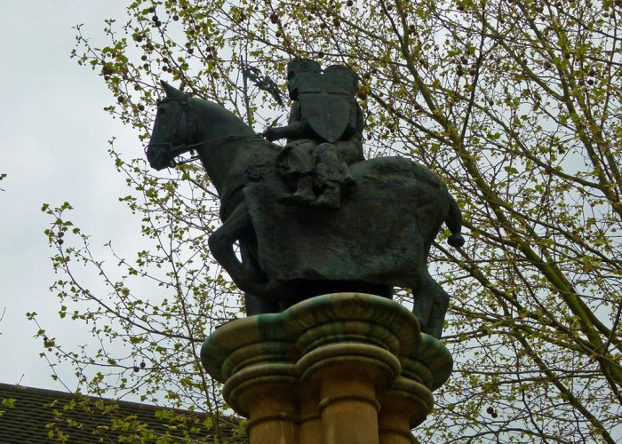 Two knights on a horse, Knights Templar