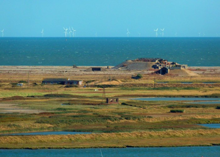 Orford Ness, Orford Castle, Suffolk