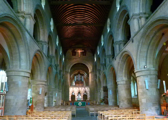 Southwell Minster, Norman, nave