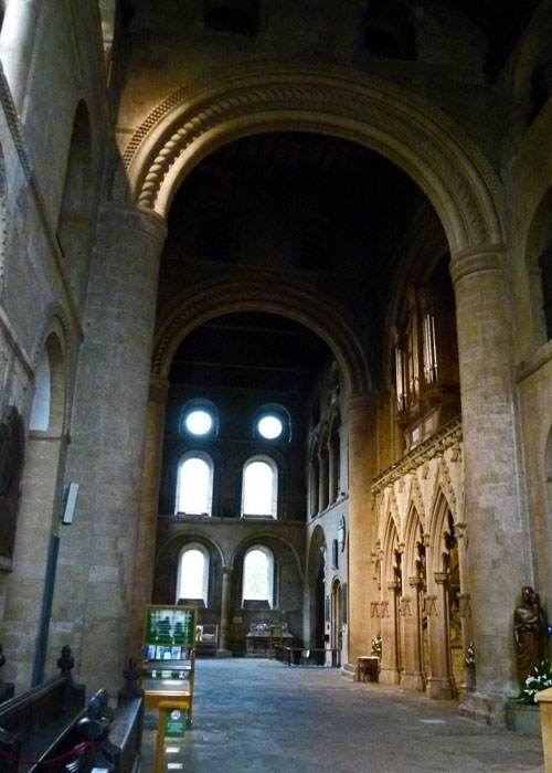 Southwell Minster, south transept