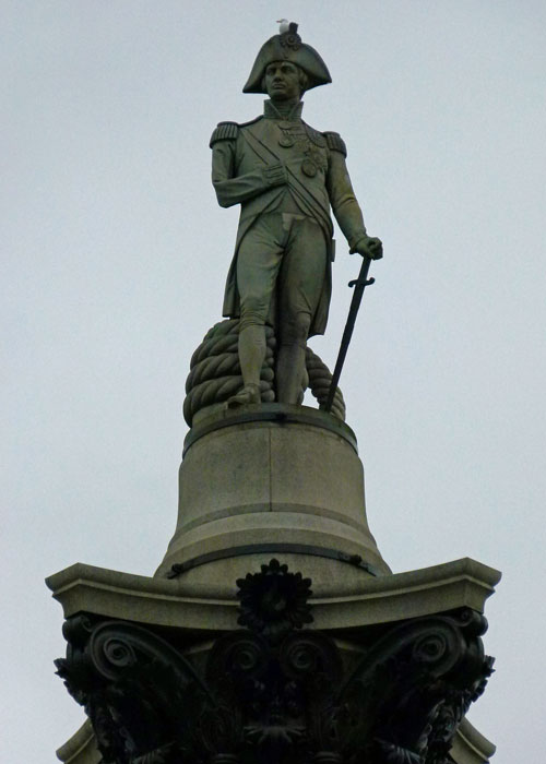 Nelson's Column, Trafalgar Square, Anniversaries, 2018