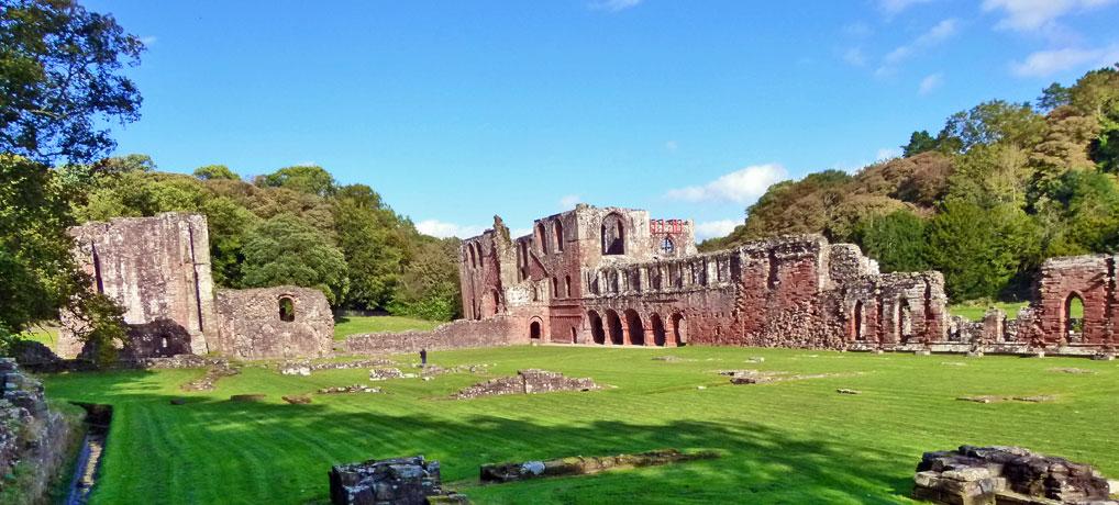 Furnbess Abbey, visit Cumbria