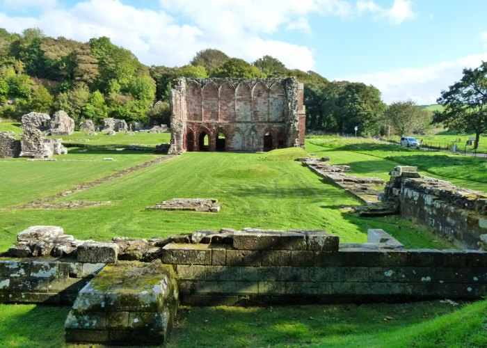 Infirmary, Furness Abbey, Cumbria