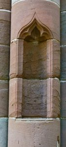 Furness Abbey, niche