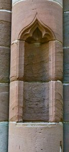 Furness Abbey, niche