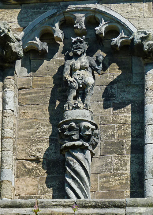 Stirling Sculptures, devil