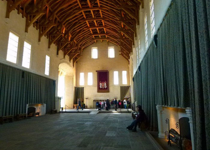 Stirling Castle, Great Hall, hammerbeam roof