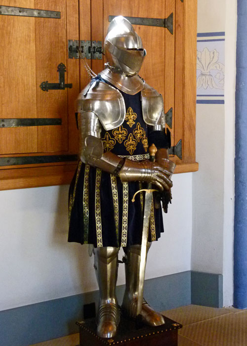 Suit of armour, Palace, Stirling Castle