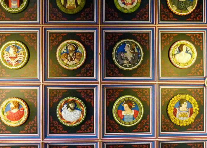 Stirling Heads, Stirling Castle