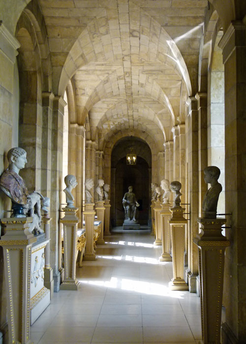 Antique passage, Castle Howard