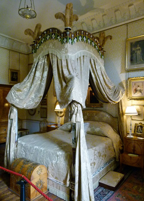 Lady Georgiana's bedroom, Castle Howard