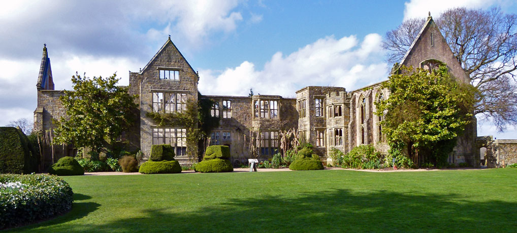 Nymans, National Trust houses in South East England