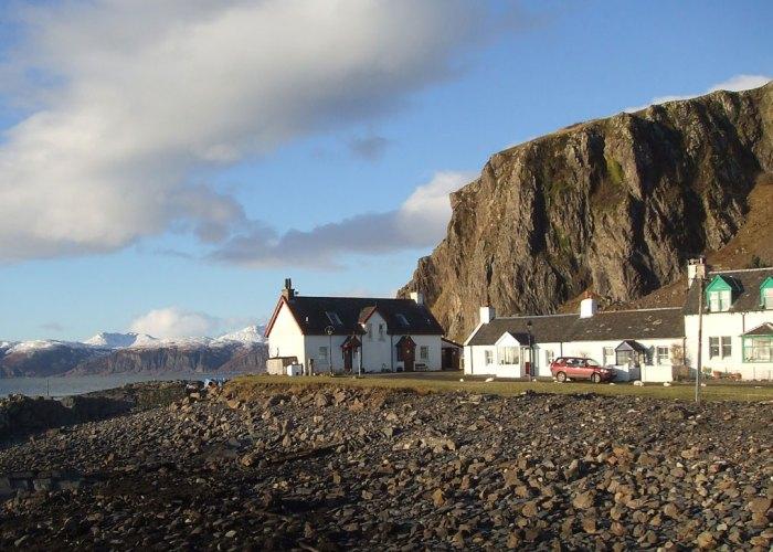Cottages at Ellenabeich