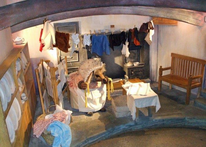 Mrs Tiggy-Winkle's kitchen