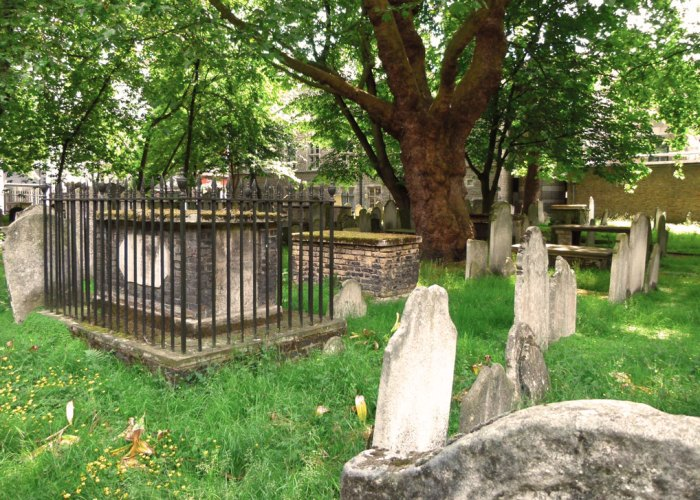 Bunhill, burials, London, dissenters