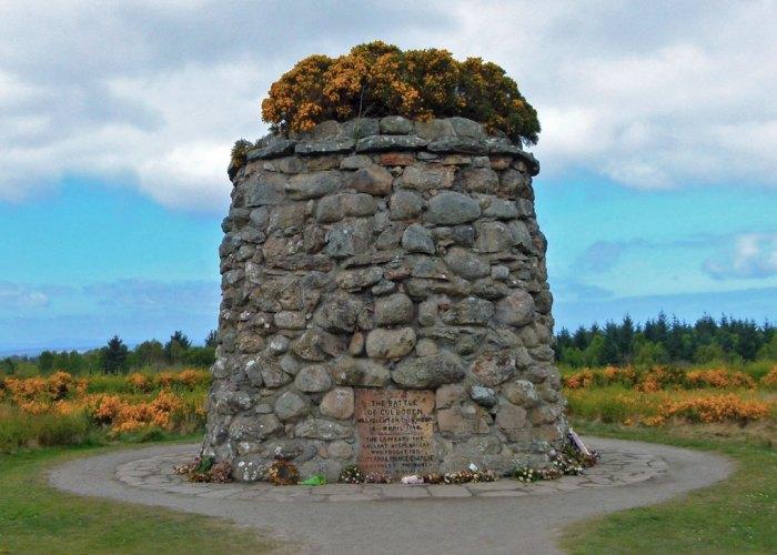 Culloden, Memorial Cairn, National Trust for Scotland