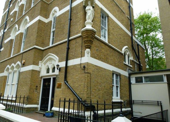 Vicarage, St Paul's, Knightsbridge, FANY, WW2