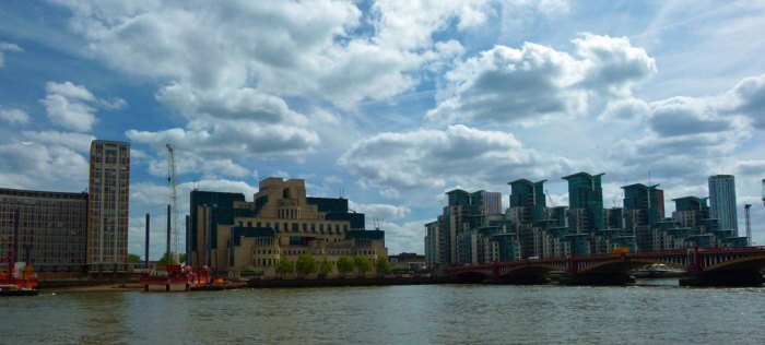 SIS, MI5, Building, Vauxhall Cross, Secret London
