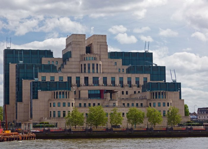 MI6 Building, Secret London