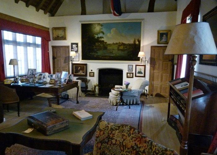 Churchill's study, Chartwell