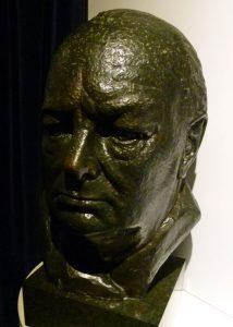 Bust of Churchill, Chartwell