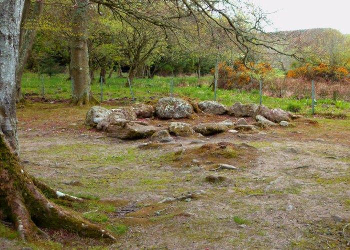 Clava Cairns, kerb crairn, visit Scotland