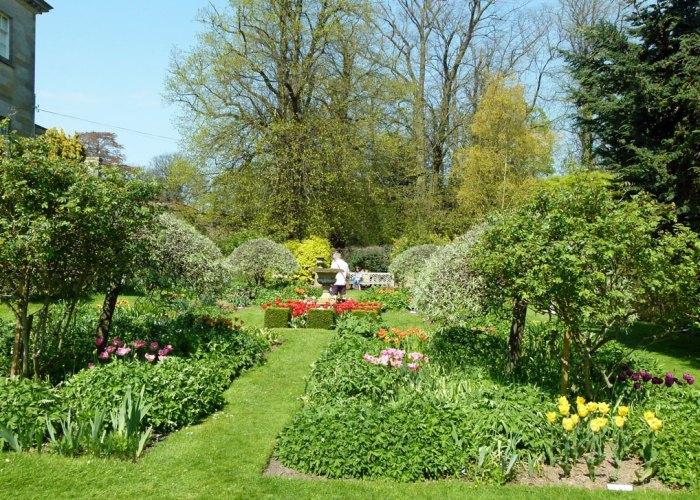 The Sundial Garden, Constable Burton Hall