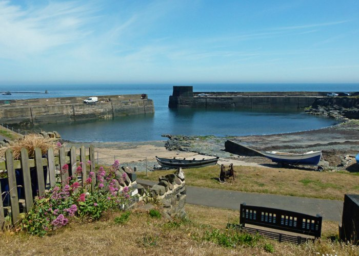 Craster, harbour