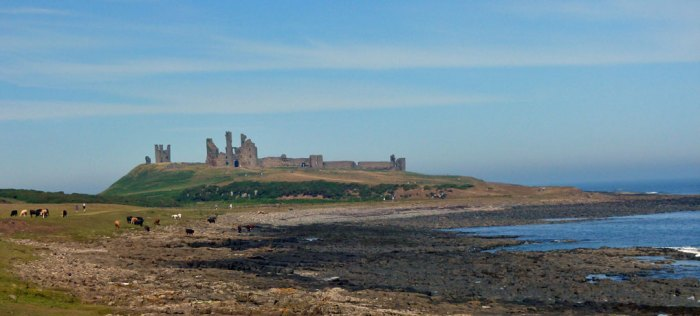 Dunstanburgh, castles in Northumberland