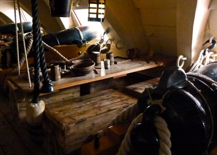 HMS Victory, crew conditions