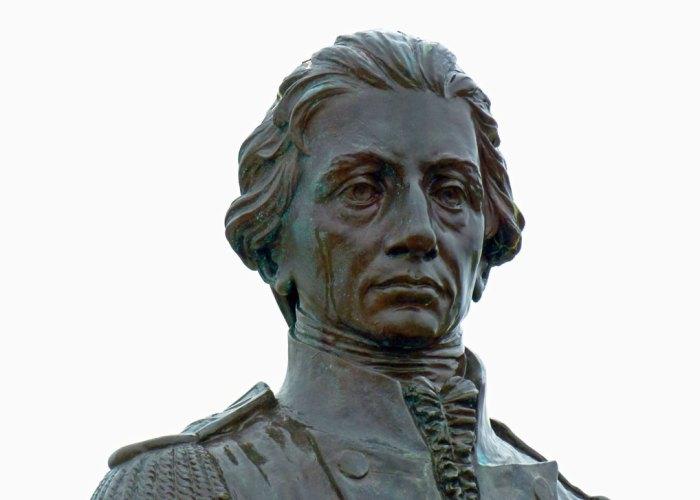 Nelson, statue, Royal Garrison Church, Portsmouth