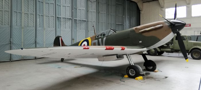 Spitfire, Battle of Britain, Duxford