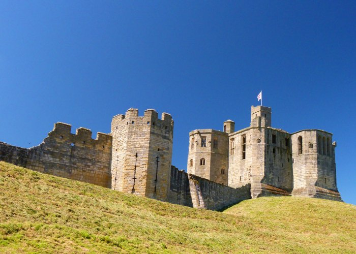 Warkworth Castle, Northumberland, English Heritage