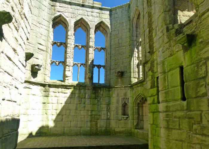 Warkworth, chapel, great tower