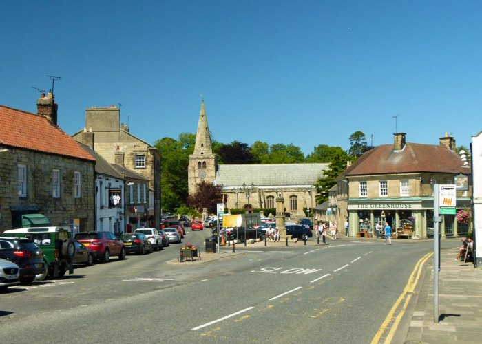 Warkworth, Village, Northumberland