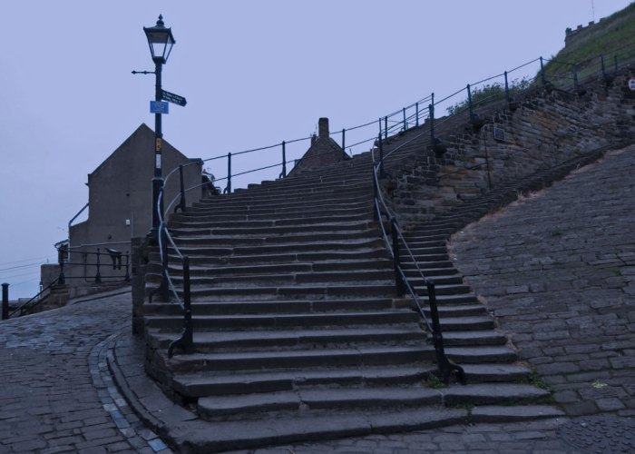 Whitby, steps, Dracula