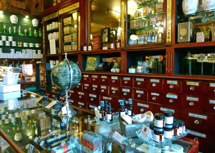 Haworth, Cabinet of Curiosities, Apothecary