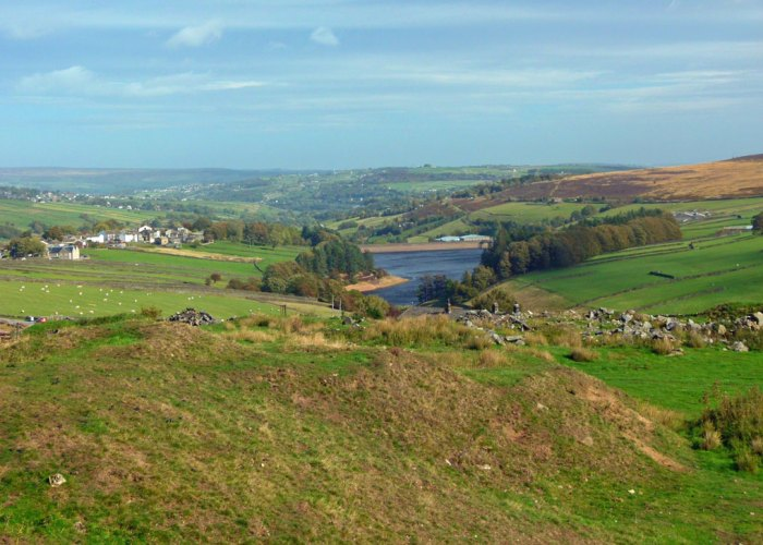 Lower Laithe Reservoir, Stanbury