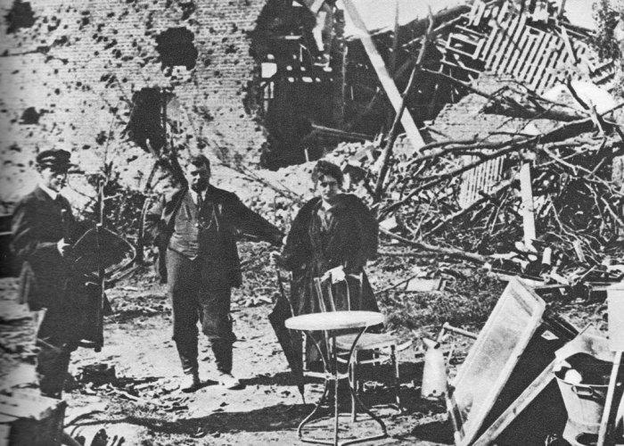 Armistice, reparations, war damage