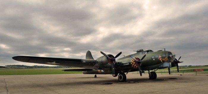 Boeing B-17, Flying Fortress, Sally B, Duxford