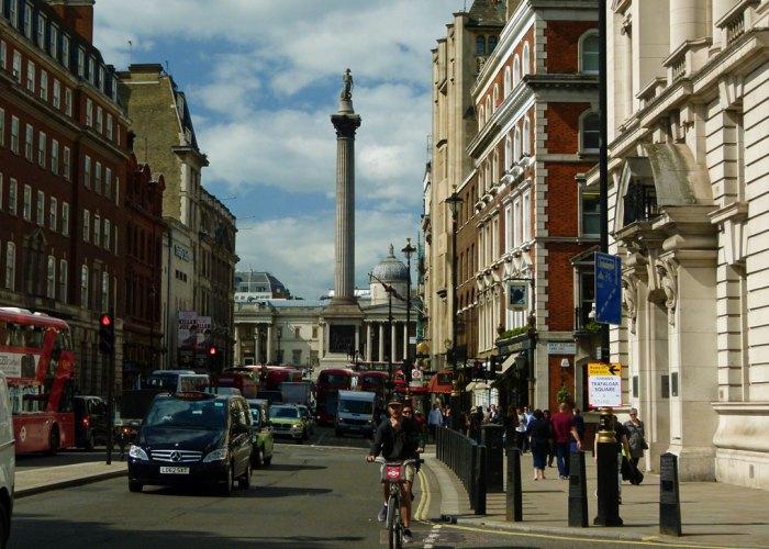 Nelson's Column, National Gallery, Whitehall