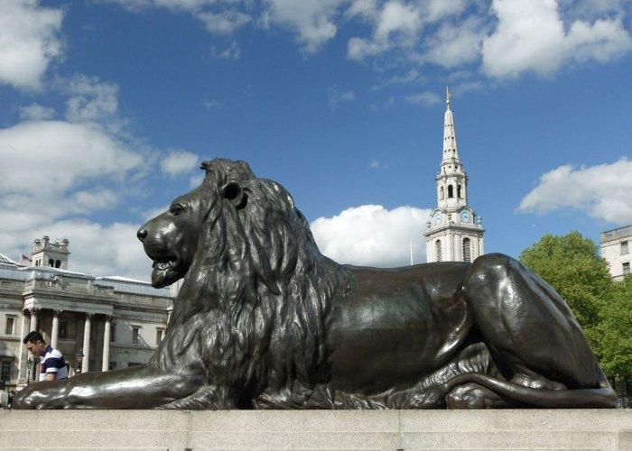 Trafalgar Square, Landseer's lions