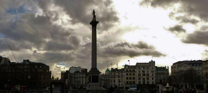 Exploring Trafalgar Square