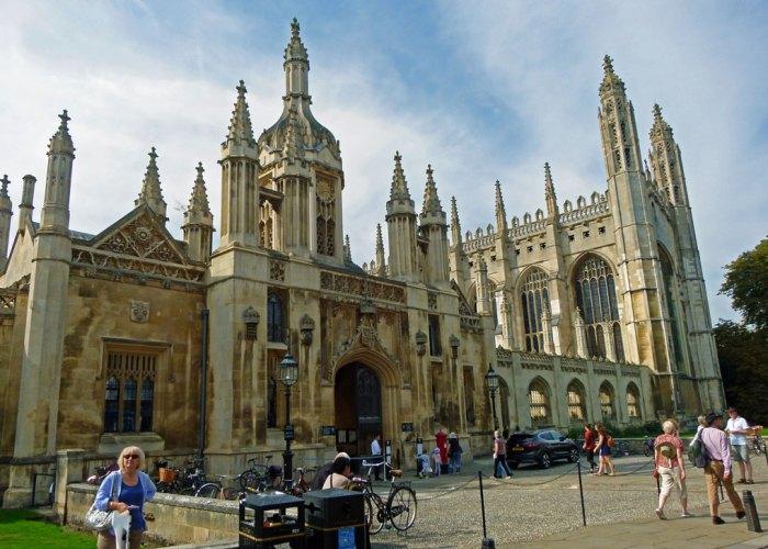King's College, King's Parade, visit Cambridge