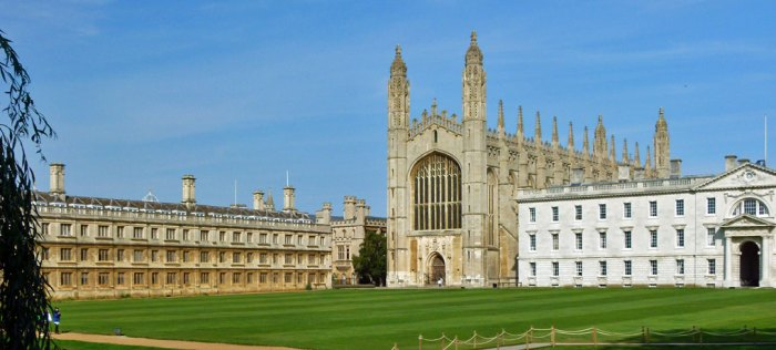 King's College, Cambridge, September
