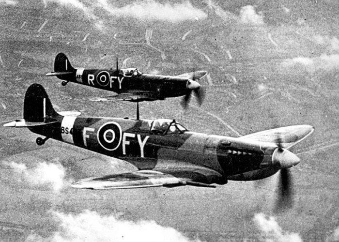 Spitfires of 611 Squadron, Biggin Hill