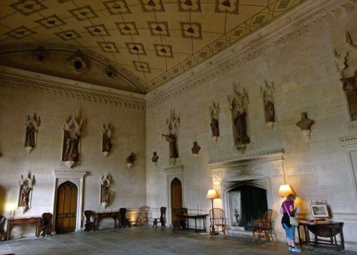Great Hall, Lacock Abbey, John Ivory Talbot